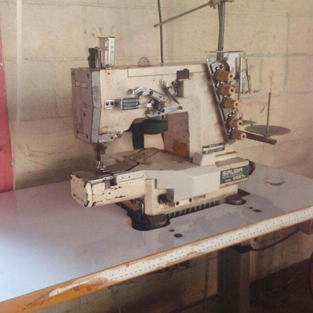 SIRUBA C007K COVERSTITCH INTERLOCK SEWING MACHINE