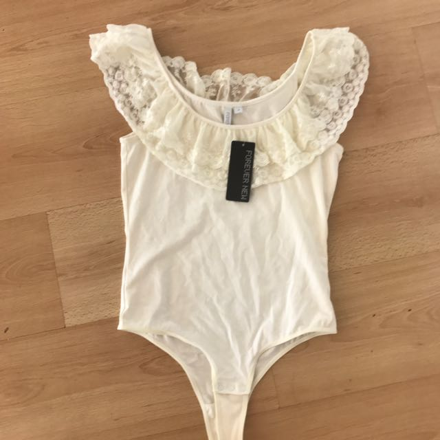 Size 10, Forever New Body Suit With Tags