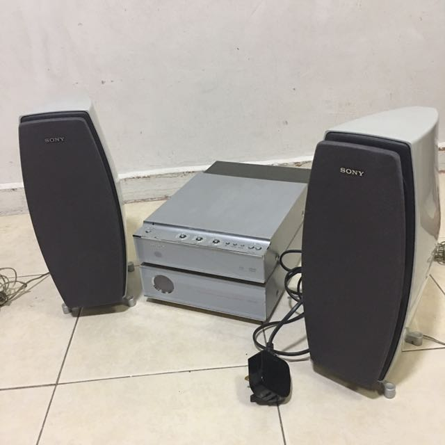 sony dvd cassette player electronics others on carousell carousell