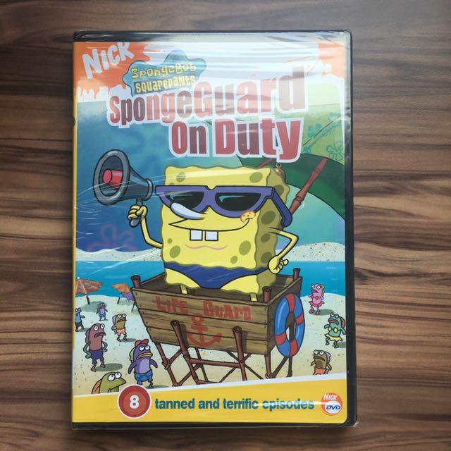 spongebob spongeguard on duty dvd 2004 music amp media