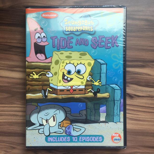 Spongebob Tide Amp Seek Dvd 2003 Music Amp Media Cds Dvds