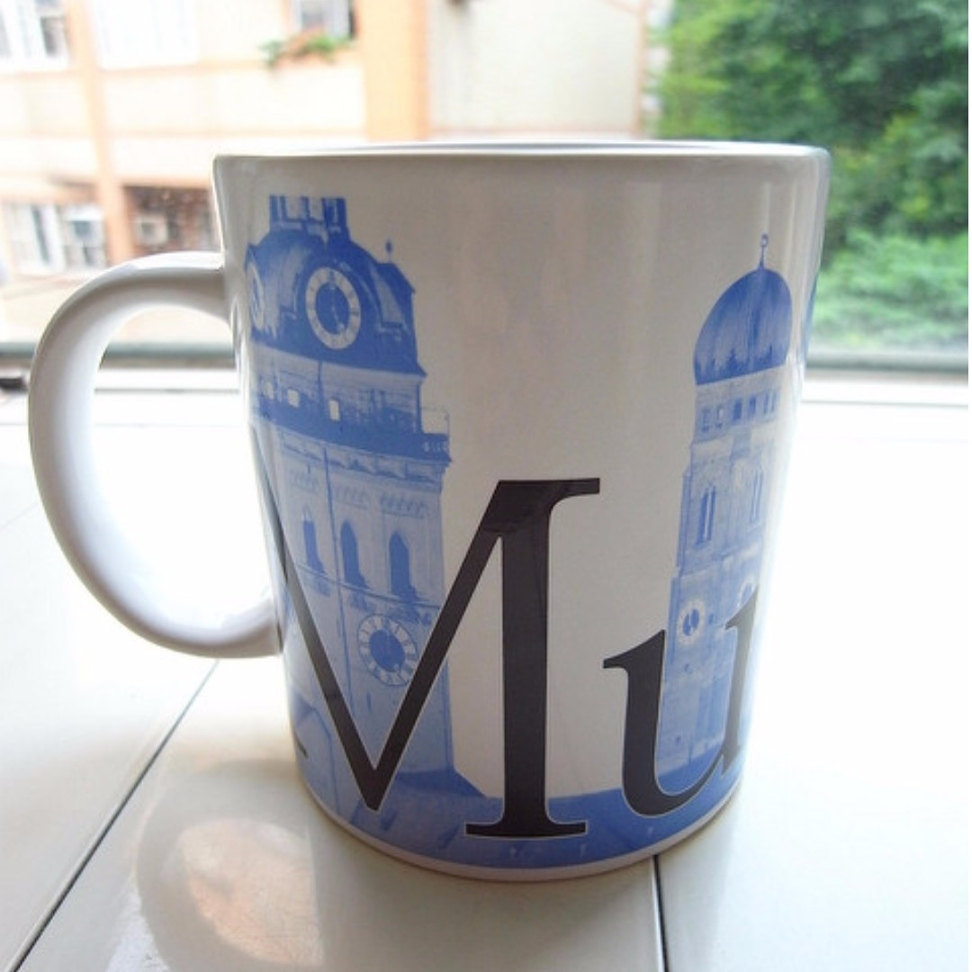 Starbucks City Mug_Munich Germany 2002 (星巴克 德國慕尼黑)