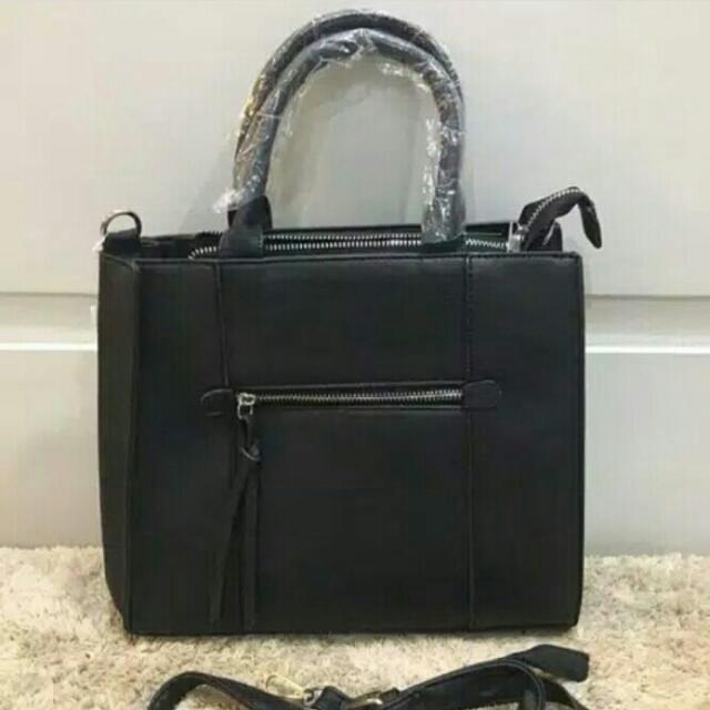 Stradivarius Front Zip Handbag