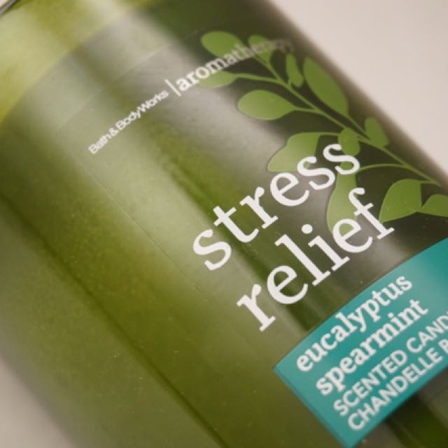STRESS RELIEF CANDLE- Eucalyptus