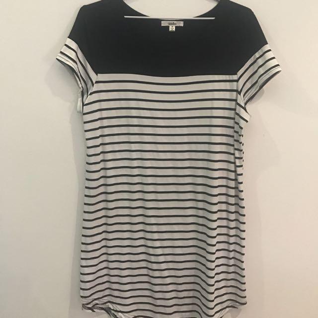 Striped T-Dress