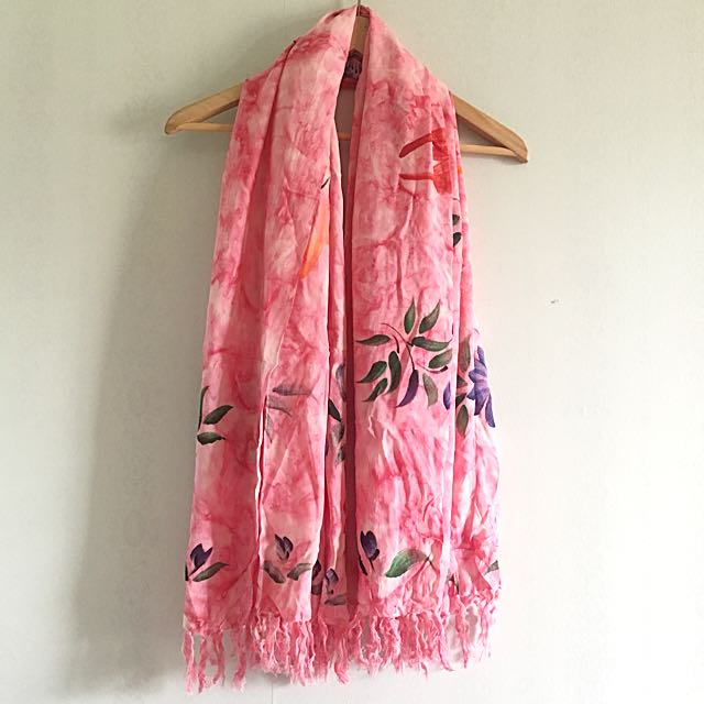 Summer cover up scarf