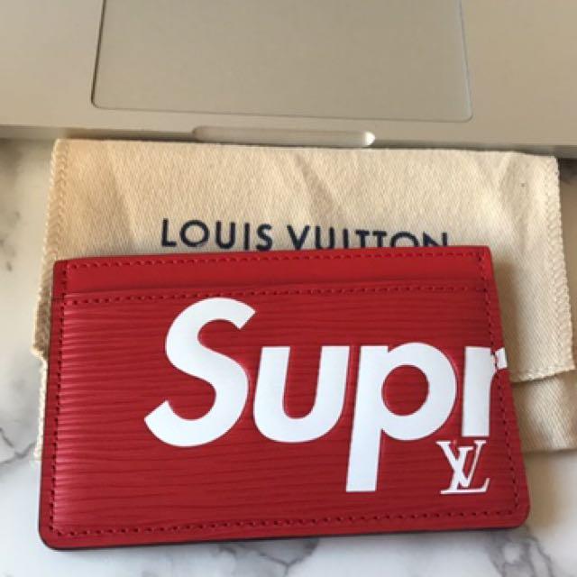 Supreme X LV Card Holder