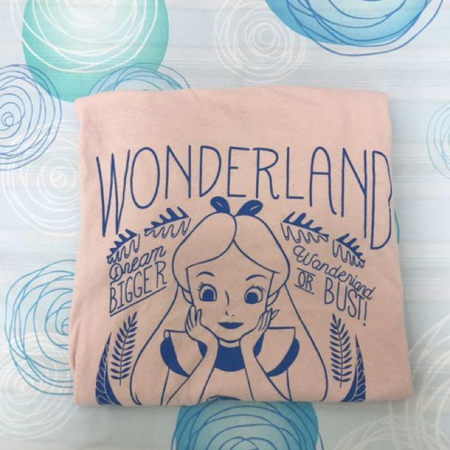 愛麗絲粉紅T恤