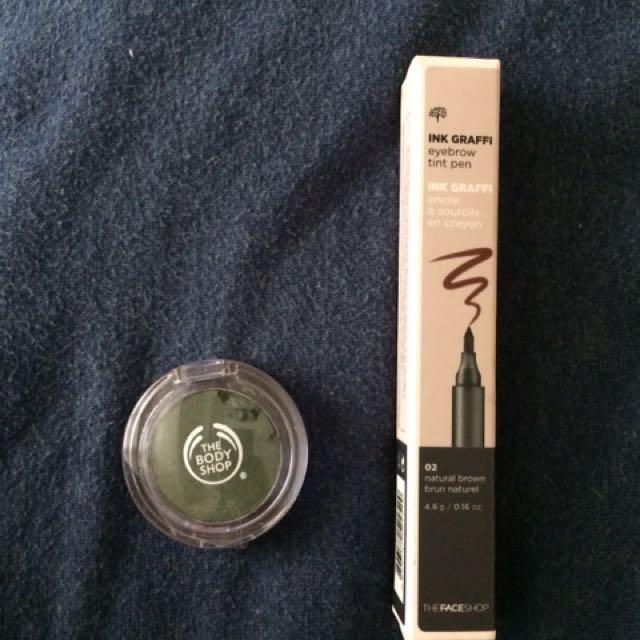 Take Both: Brow Tint & Eyeshadow