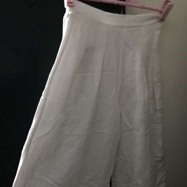 Linen Culottes -3 Pairs