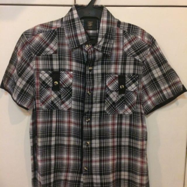 The Row:Solo Polo Black Short Sleeves