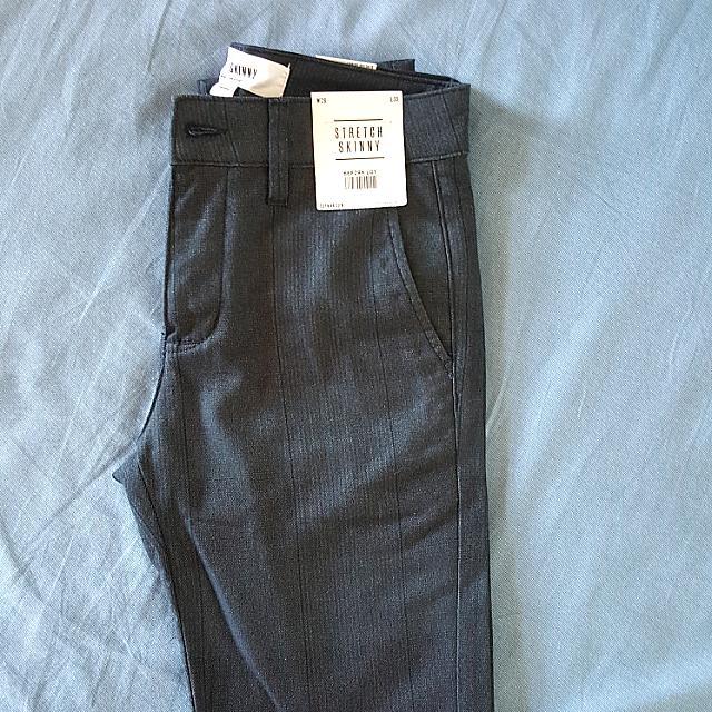 "Topman Stretch Skinny Pants 28"" L30"