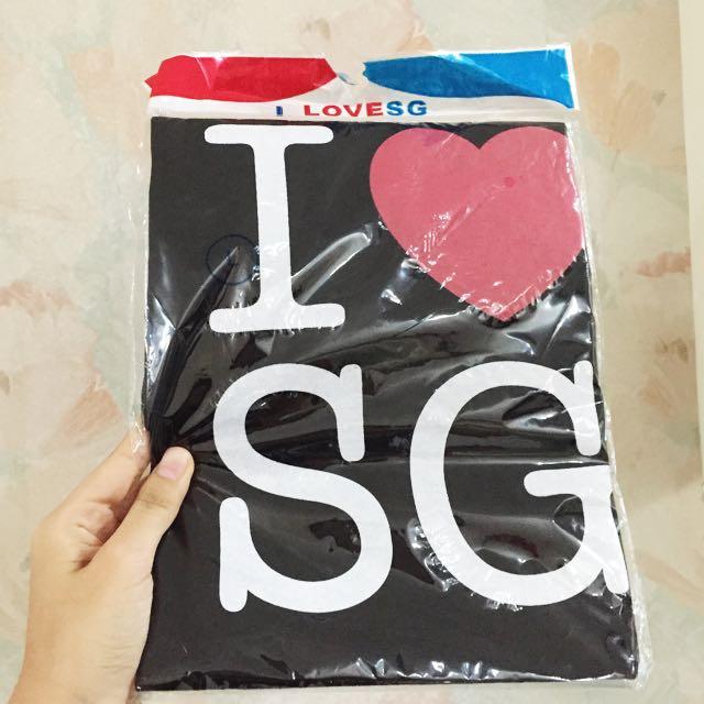 Tshirt I ❤️ SG
