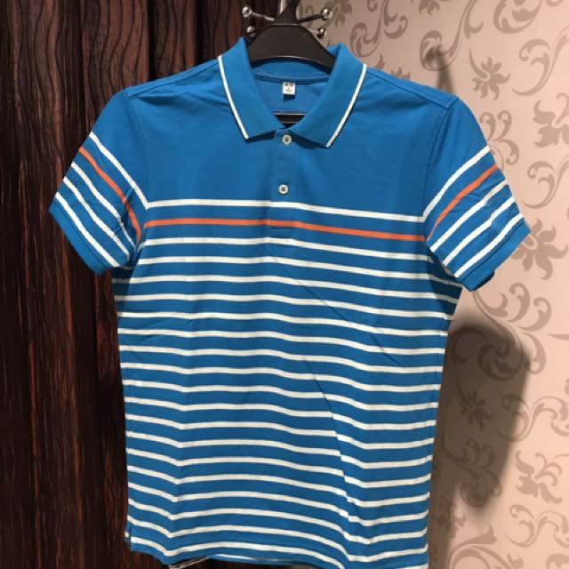 Uniqlo Blue Polo Shirt