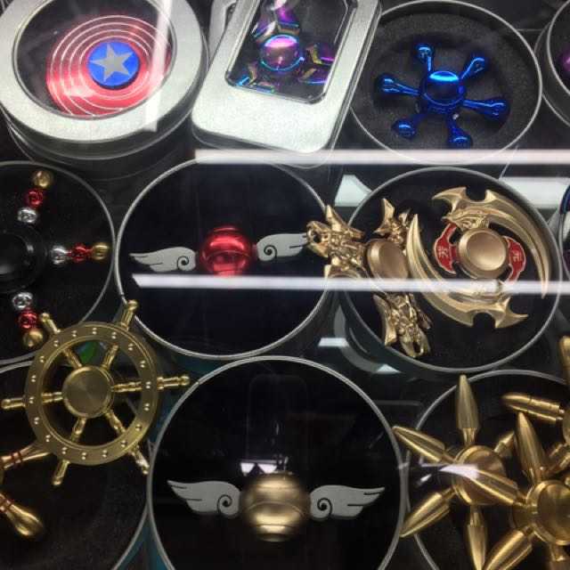 Unique metal spinners ❤️