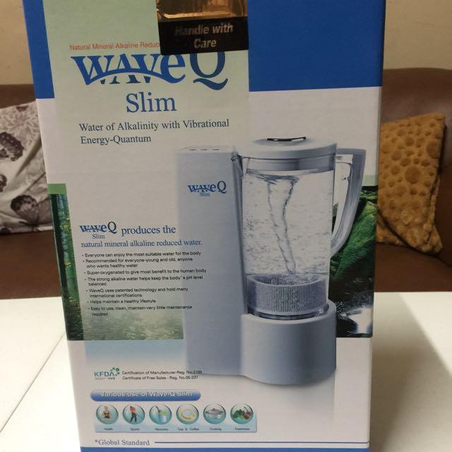WaveQ Slim Water Of Alkalinity