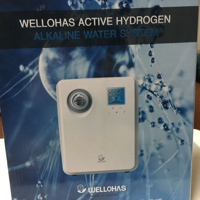 Wellohas Active Hydrogen Alkaline Water System