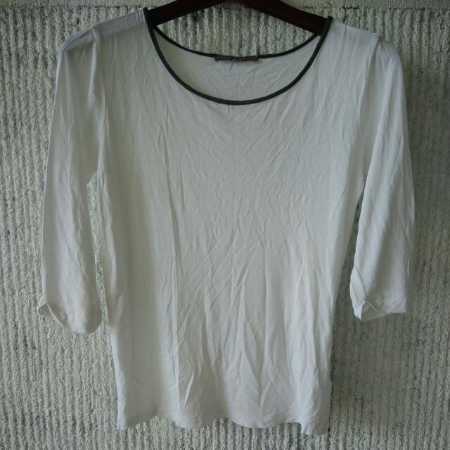 White 3/4 Top