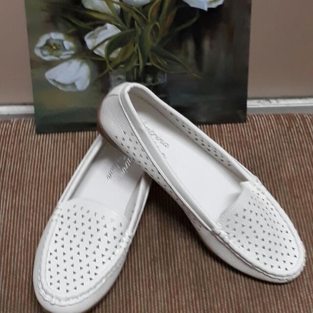 White Loafers (Size 9)