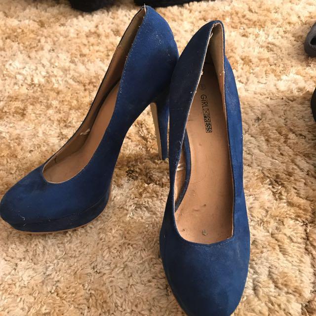 Women's Size 9 Blue Pumps