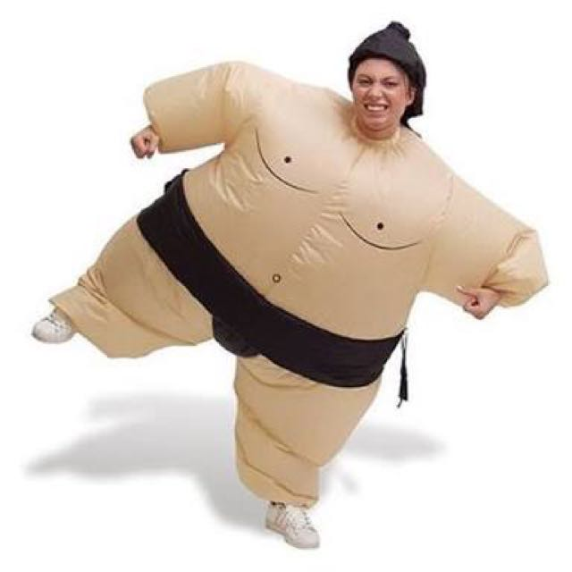 X2 Inflatable Sumo Suits