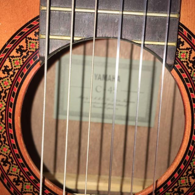 YAMAHA C-45 古典魚絲吉他 (可議價)