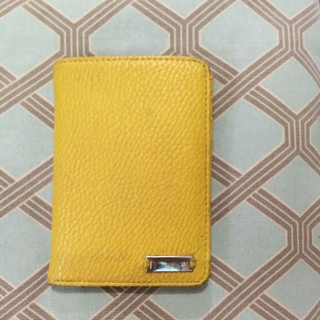 Yellow BAYO wallet