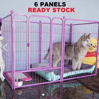 Dog Cat Rabbit Guinea Pig Pet Fence Playpen Cage