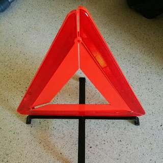 Reflective Hazard Triangle