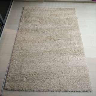 (NEW & CHEAP!) Nuage Shaggy Rug - Cream (Now $300, was $500!)