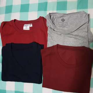 PRELOVED BASIC T SHIRTS. CLEARANCE