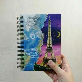 Eiffel Tower Travel Journal