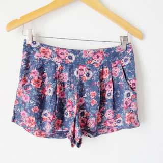 Cotton On Shorts Navy Blue
