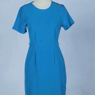 MINT - Blue Dress - Kantor / Formal