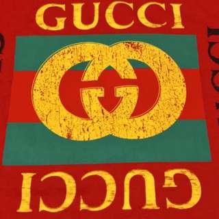 Gucci New Season Classic logo Vintage tee