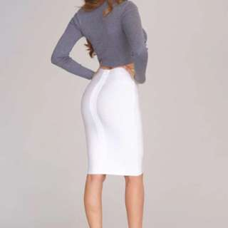 Herves Ledger Pencil Skirt (Inspired)