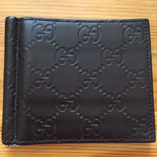 Gucci Moneyclip 6CC Wallet