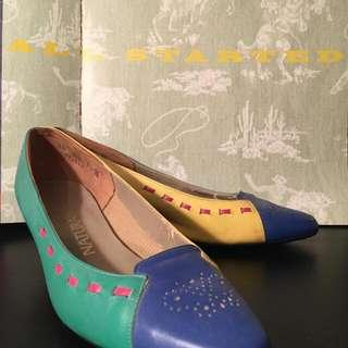 Block Coloured Naturalizer Shoes