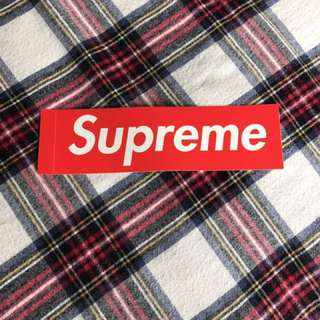 Supreme Bogo Sticker