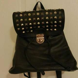 Small Backpack With Studs