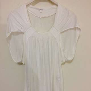 Vanessabruno 白色造型上衣