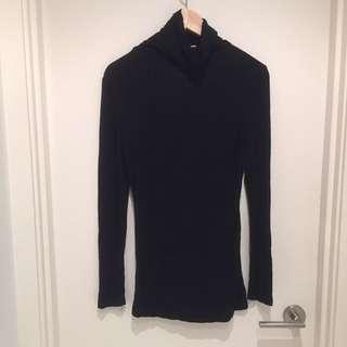 Turtle Neck Long Sleeve Shirt