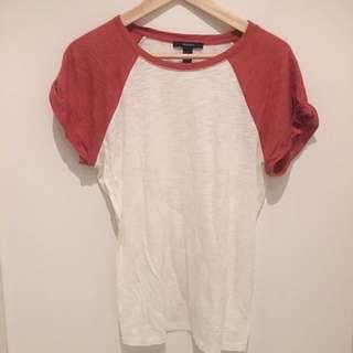 Two Coloured Shirt T Shirt