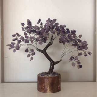 Tree Of Life Gemstone Tree Amethyst
