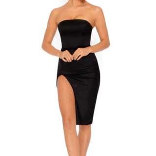 Oh Polly Split Dress