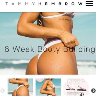 tammy hembrow bum work out guide
