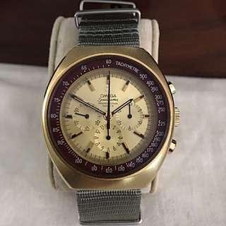 Rare Omega Speed master Mark II In Gold Filled Case Circa 1970
