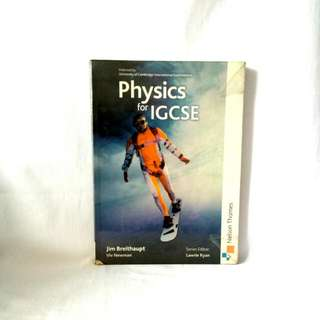Physics For IGCSE By Nelson Thrones