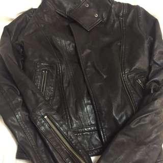 Mackage Leather Jacket Kenya Xxs