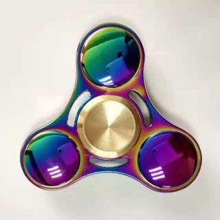 Rainbow Aluminum Fidget Spinner